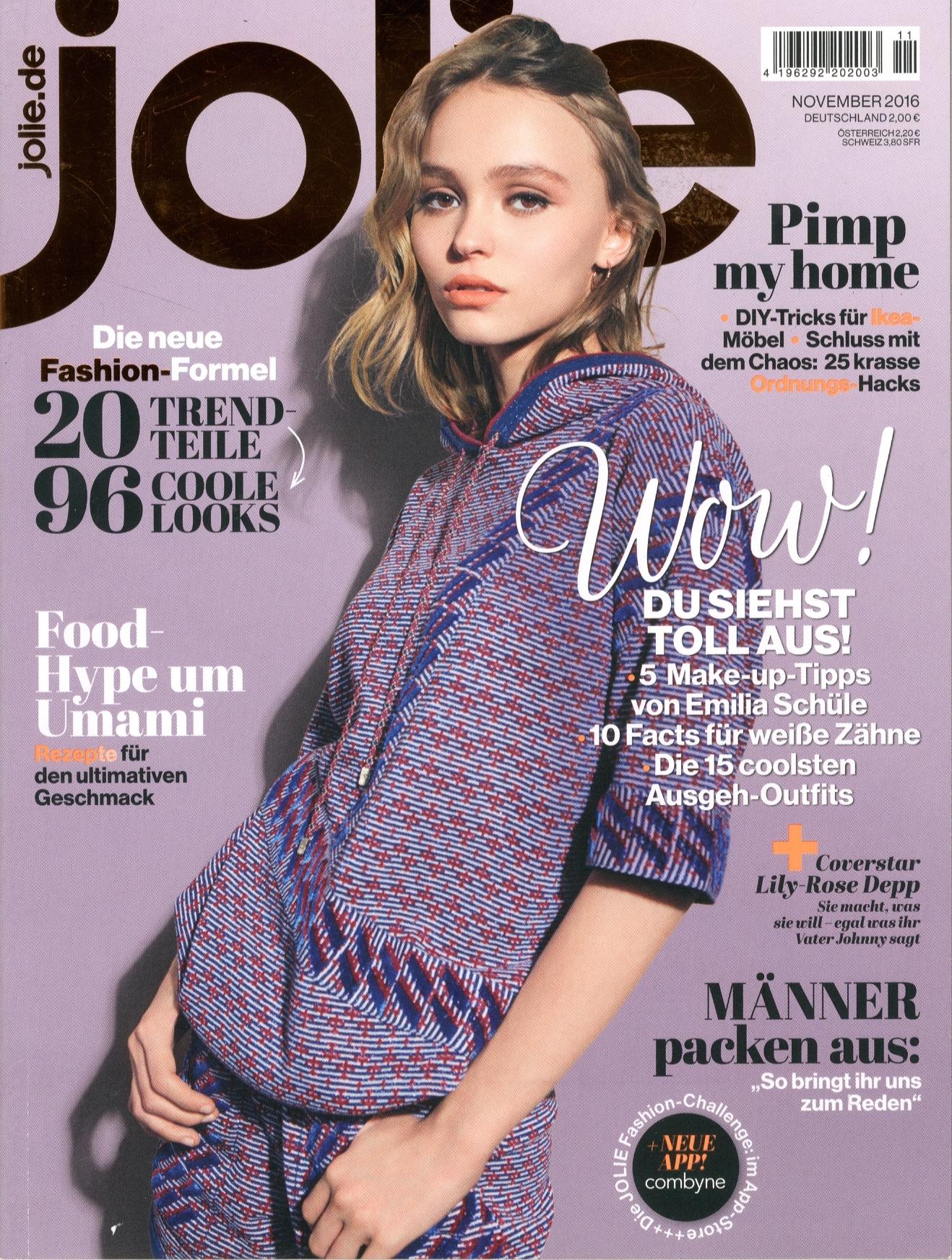 Jolie Cover, November 2016