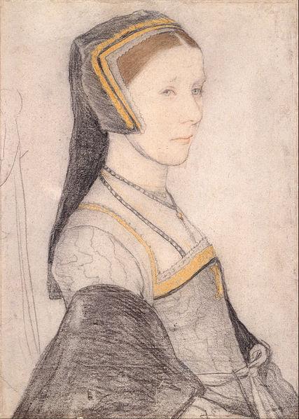 Anne Cresacre, 15, sotto la tutela di Thomas. Sposerà John, il figlio di Thomas.