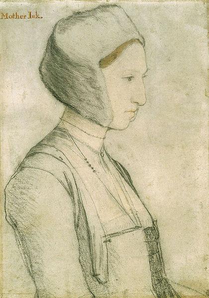 Margaret Clement (prima del matrimonio, Giggs), 19, la figlia adottiva di Thomas. Sposò il tutore dei figli di Thomas.