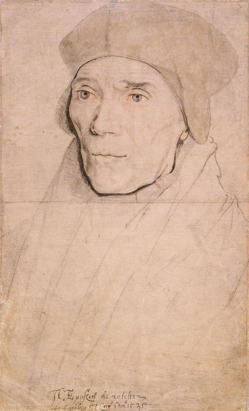 L'originale di Holbein, su cui basò un ritratto, oggi perduto
