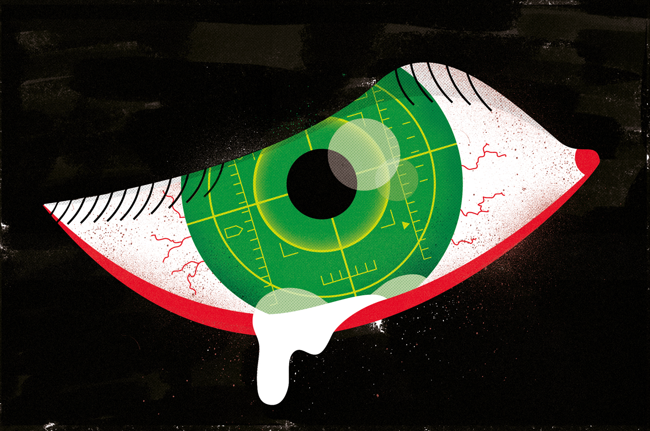 Freelance illustrator dale edwin murray conceptual International New York Times newspaper illustration