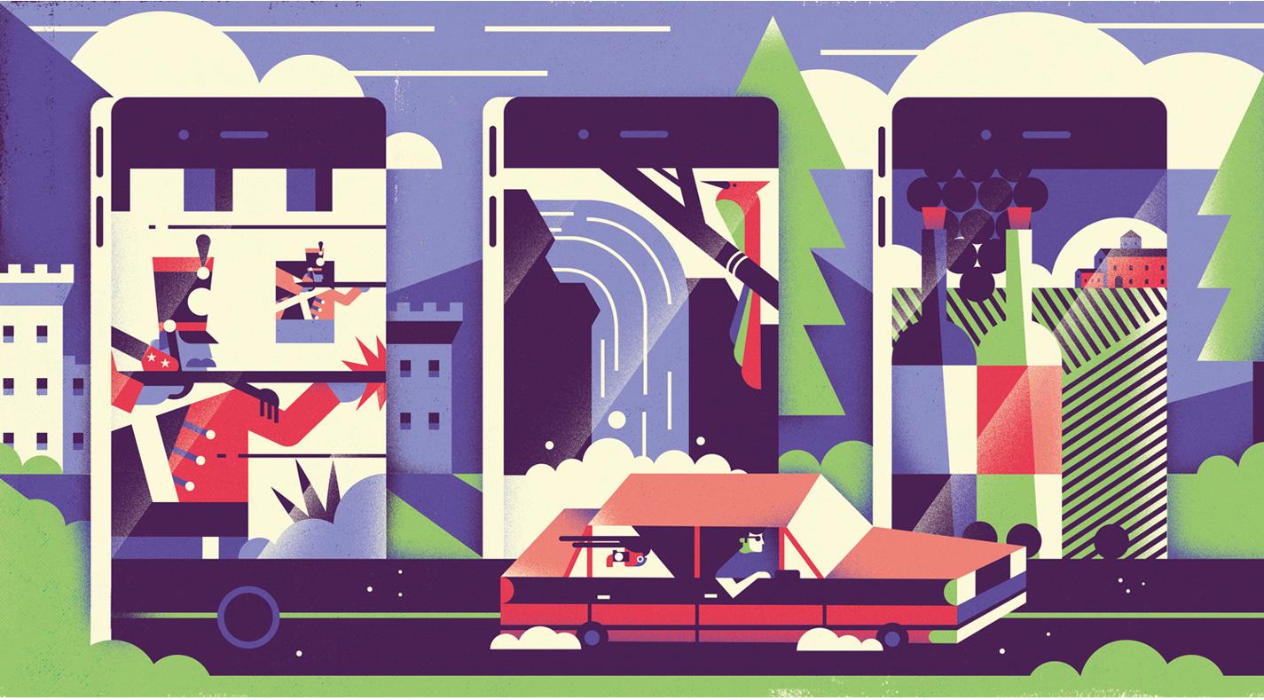freelance illustrator dale edwin murray editorial wall street journal magazine illustration