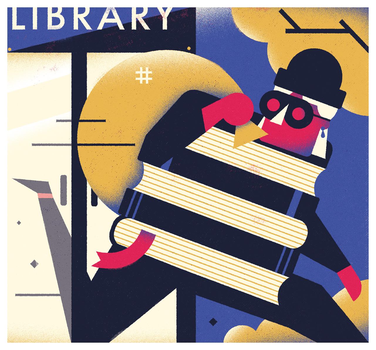 freelance illustrator dale edwin murray waitrose weekend editorial magazine illustration