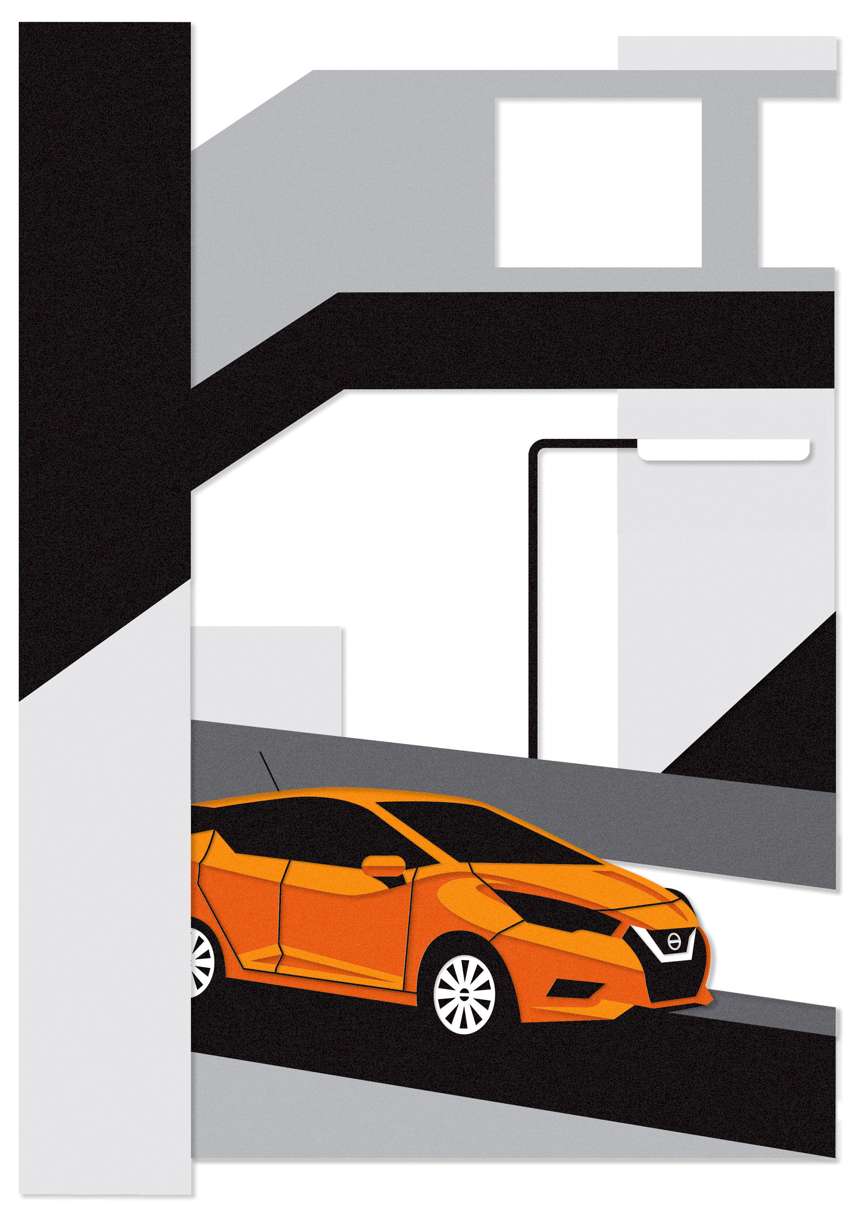 dale edwin murray freelance illustrator nissan illustration