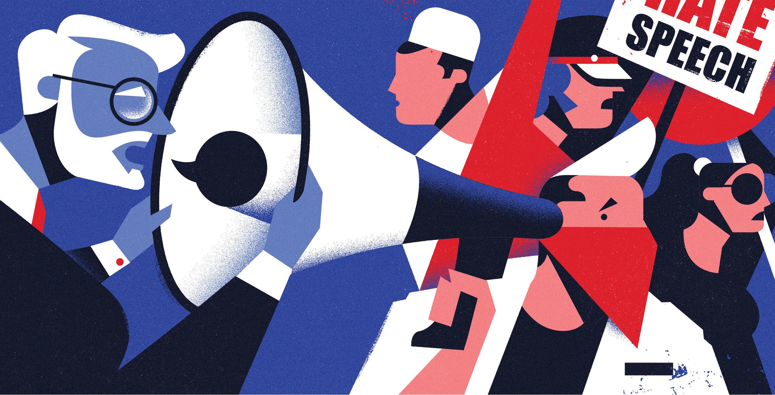 dale edwin murray freelance illustrator times higher education editorial illustration