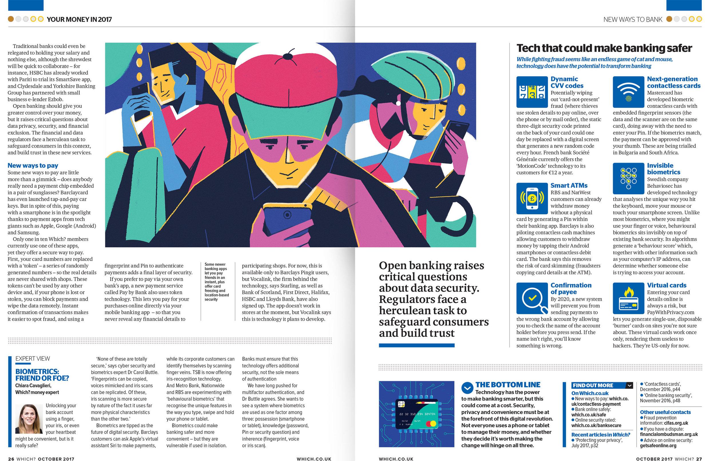 dale edwin murray freelance illustrator which? magazine editorial illustration