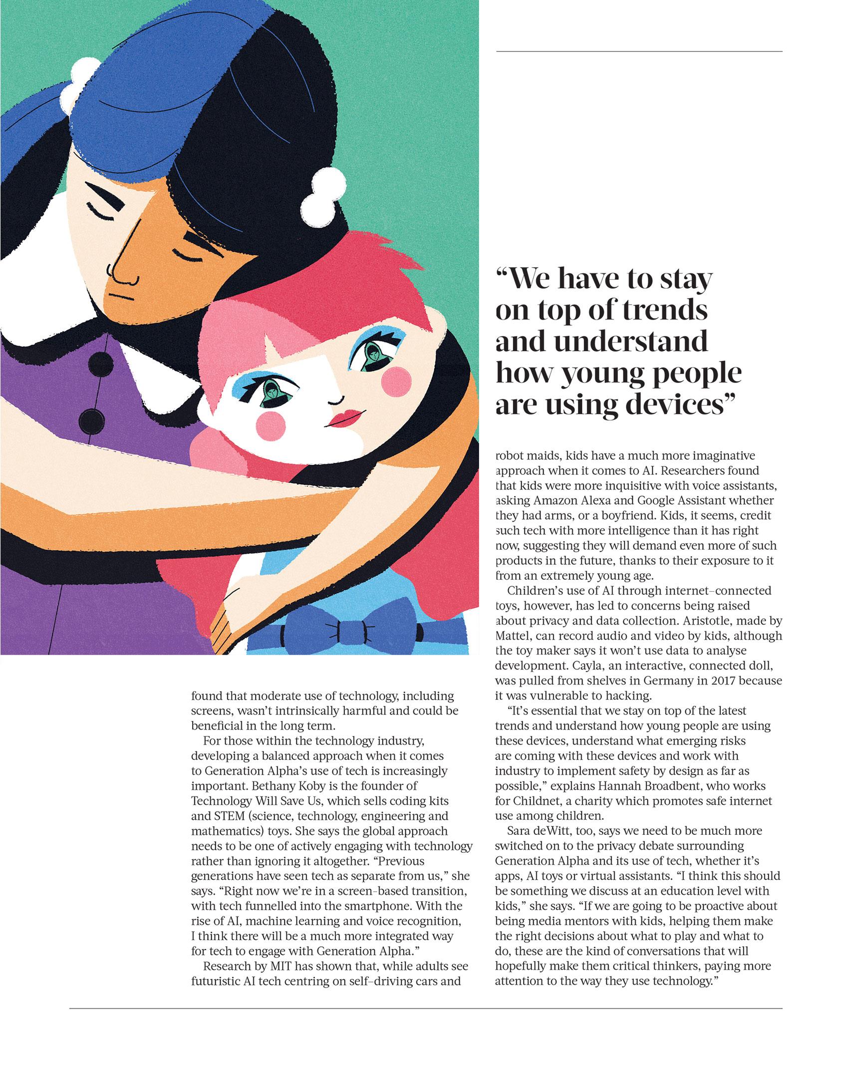 freelance illustrator dale edwin murray editorial conceptual illustration oryx magazine