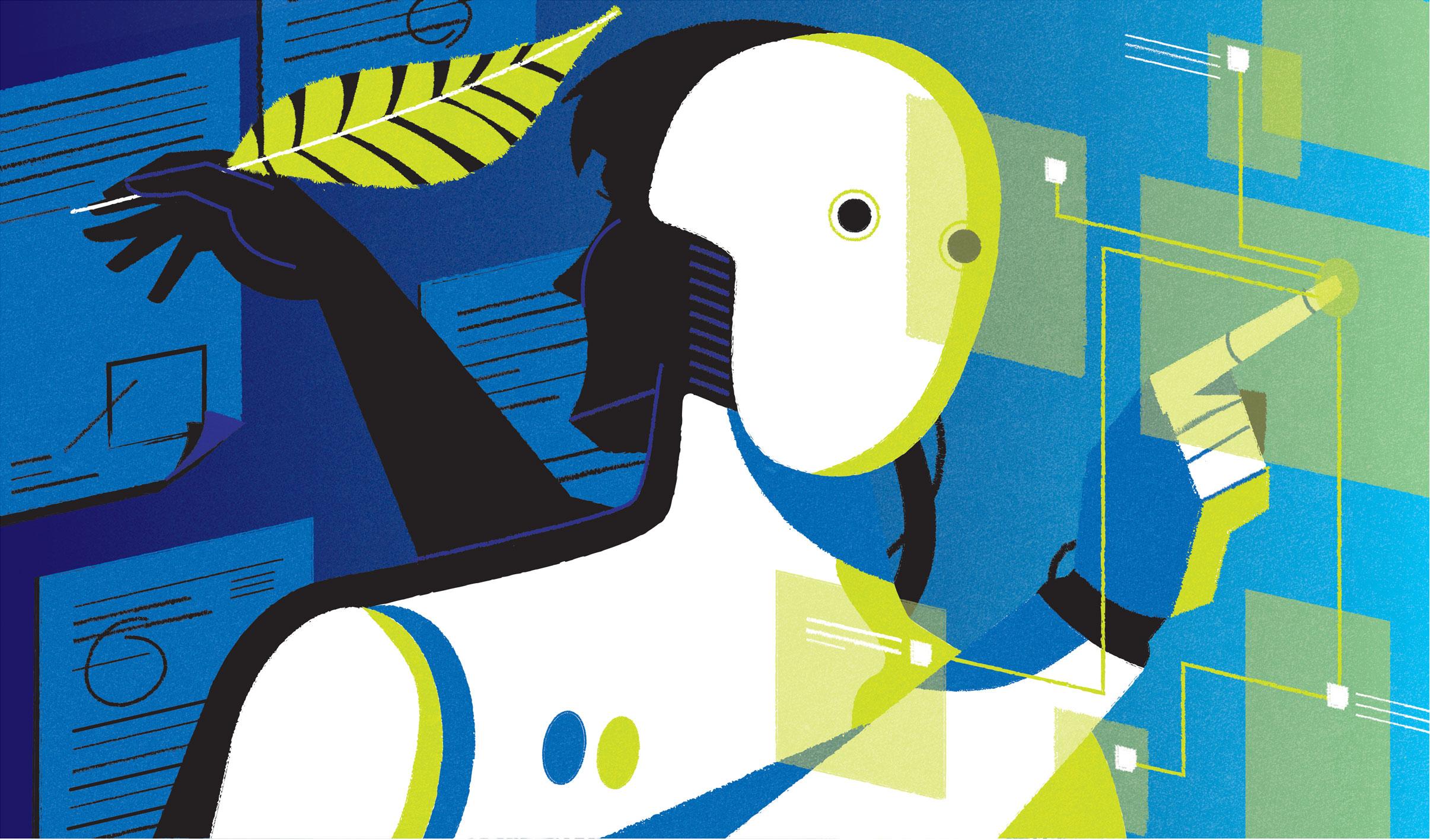 freelance illustrator dale edwin murray editorial conceptual illustration times higher education