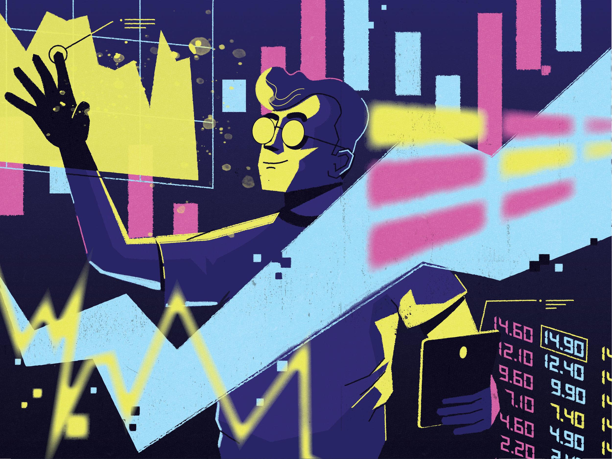 dale edwin murray freelance illustrator editorial conceptual barrons magazine illustration