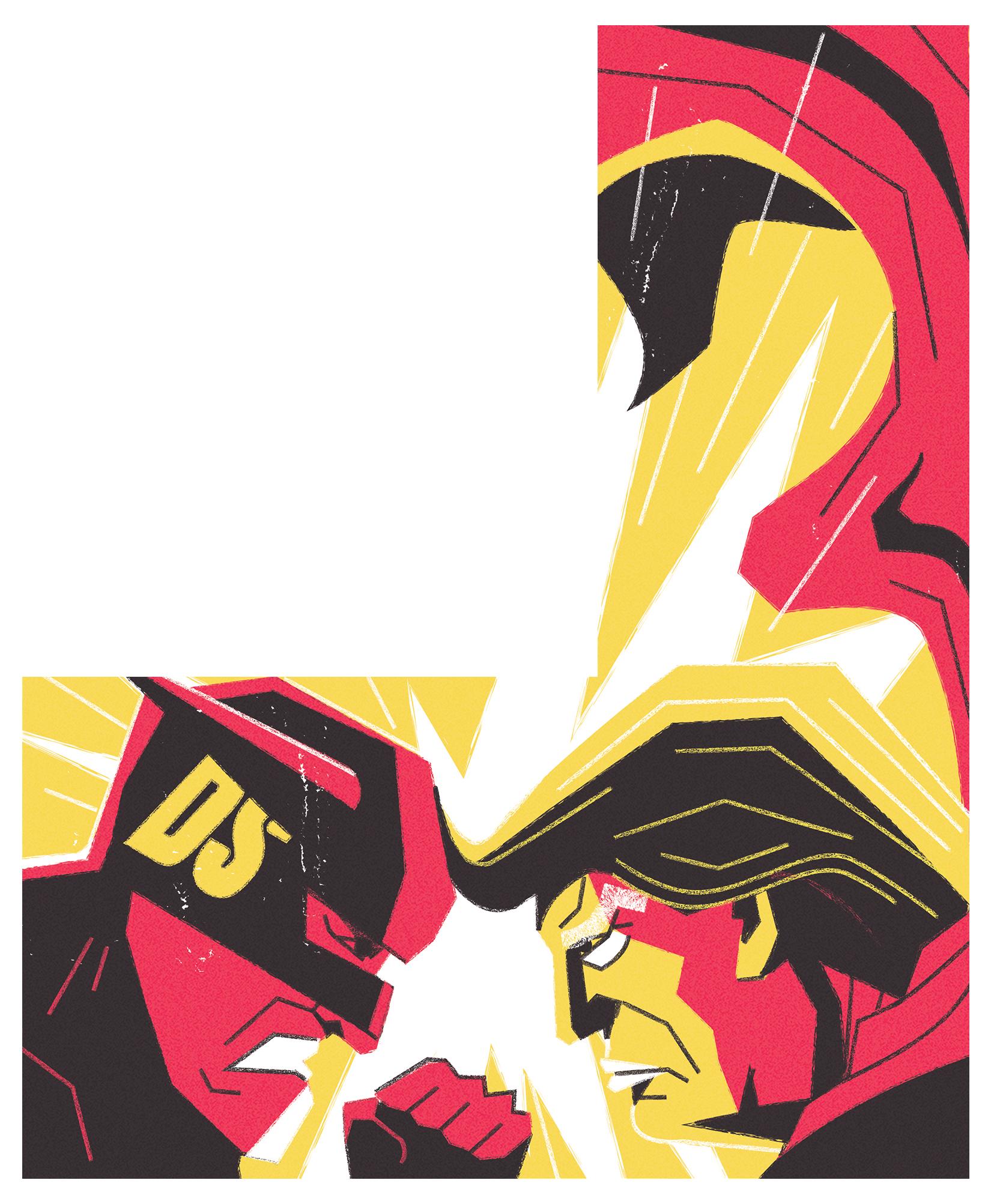 dale edwin murray freelance illustrator the jackal magazine illustration