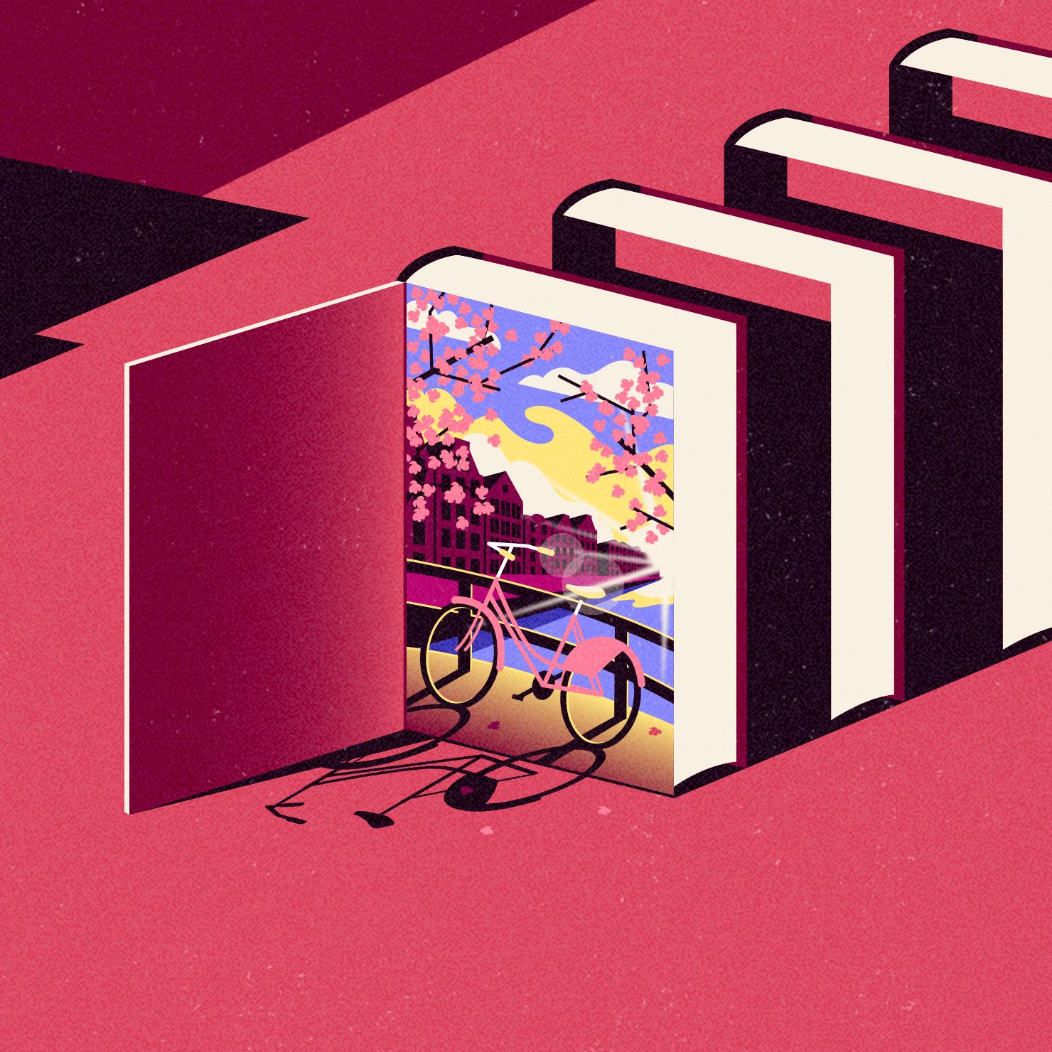 dale edwin murray freelance illustrator apple iBooks illustration