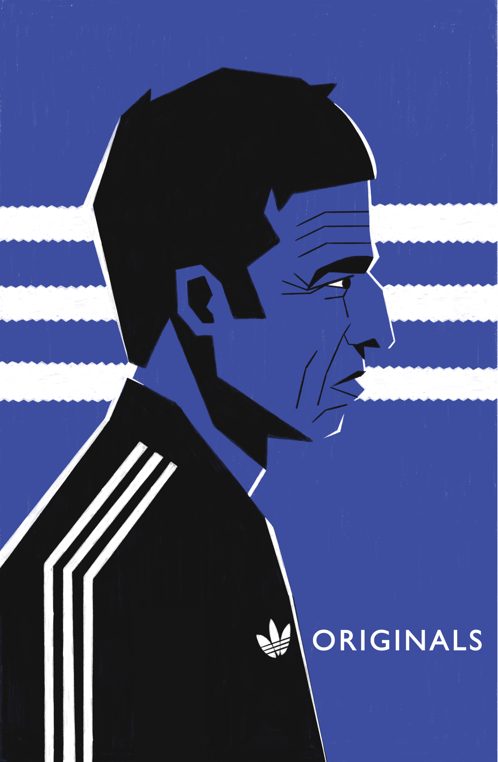 dale edwin murray freelance illustrator personal adidas portrait music poster illustration