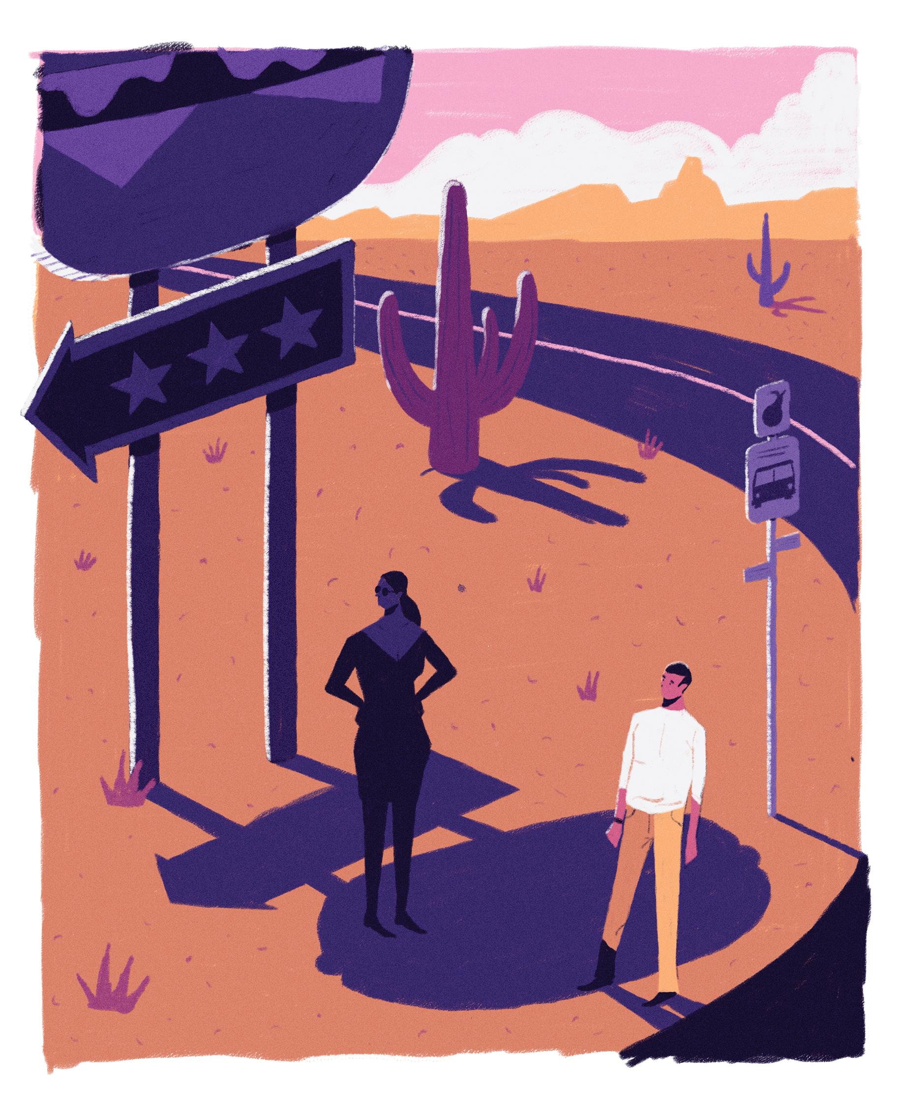 dale edwin murray freelance illustrator diabetes forecast magazine illustration