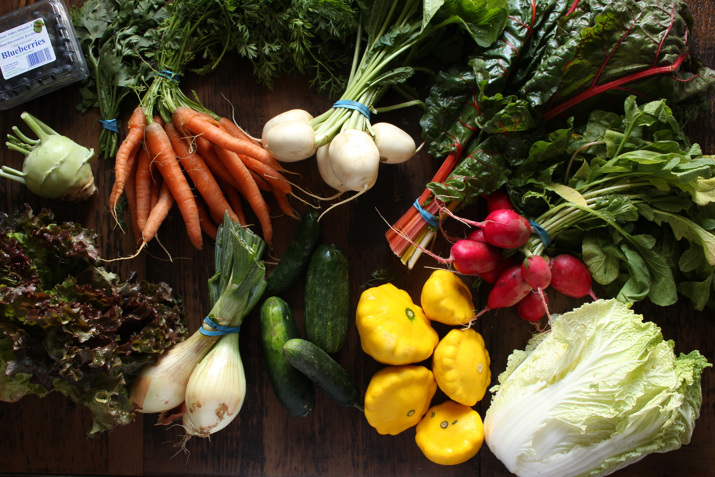 CSA Box 5 from Mountain View Farm