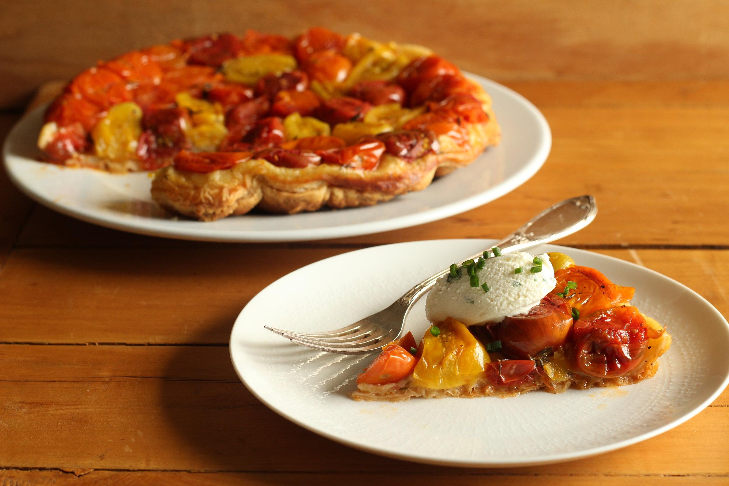TomatoTartSlice