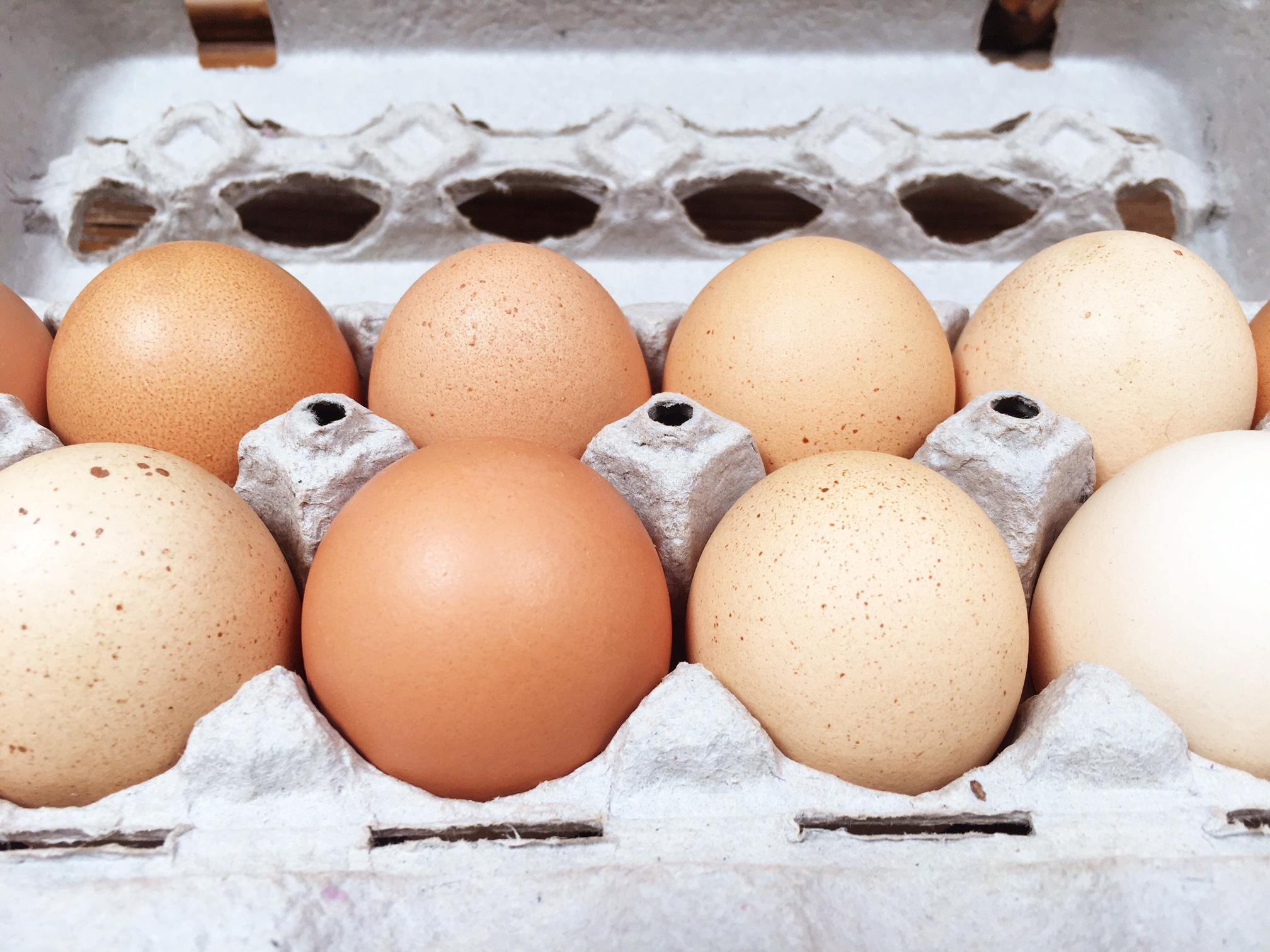Sparrow Farm eggs