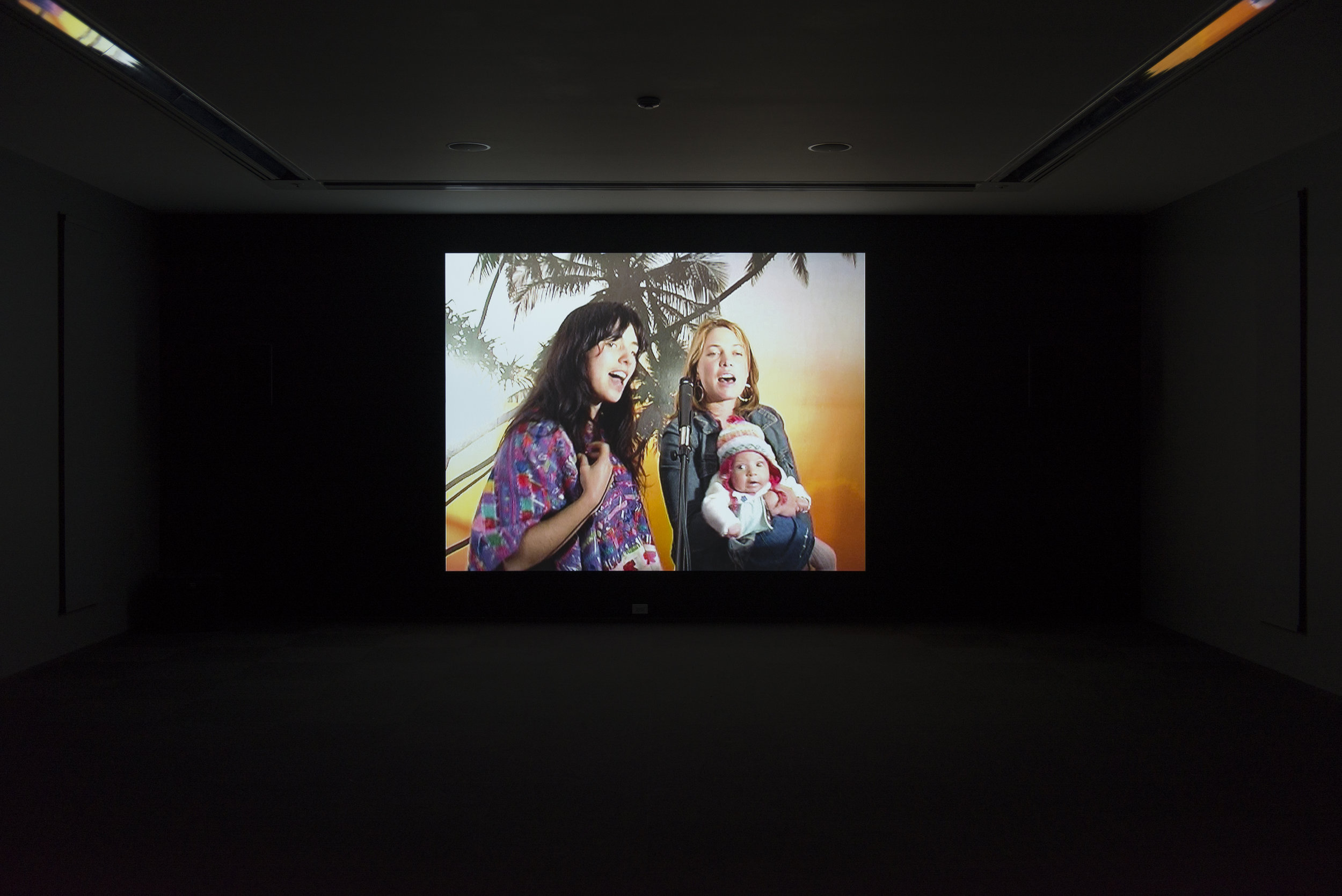 Installation view,  MCA Screen: Phil Collins , MCA Chicago Photo: Nathan Keay, © MCA Chicago