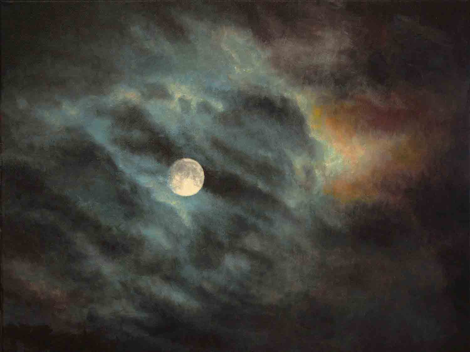 FULL MOON painting by Glenn French