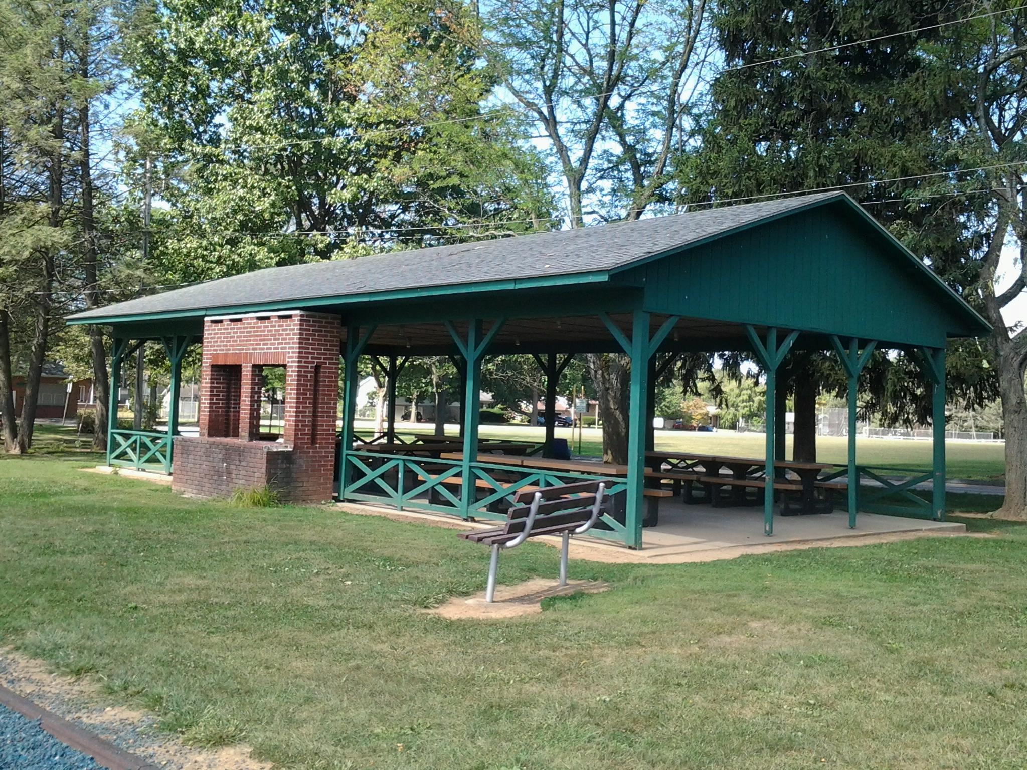 Memorial Pavilion $75 Weekends, $40 Weekdays