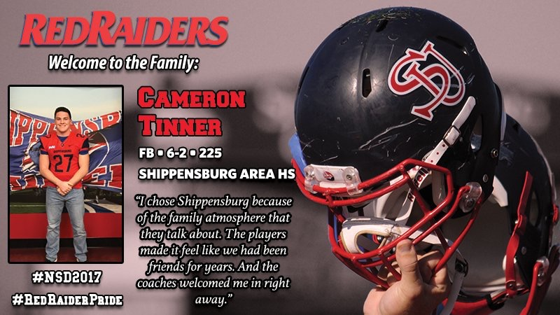 Congratulations to former youth greyhound Cameron Tinner. Good luck as you move onto the collegiate level.  GREYHOUND PRIDE!