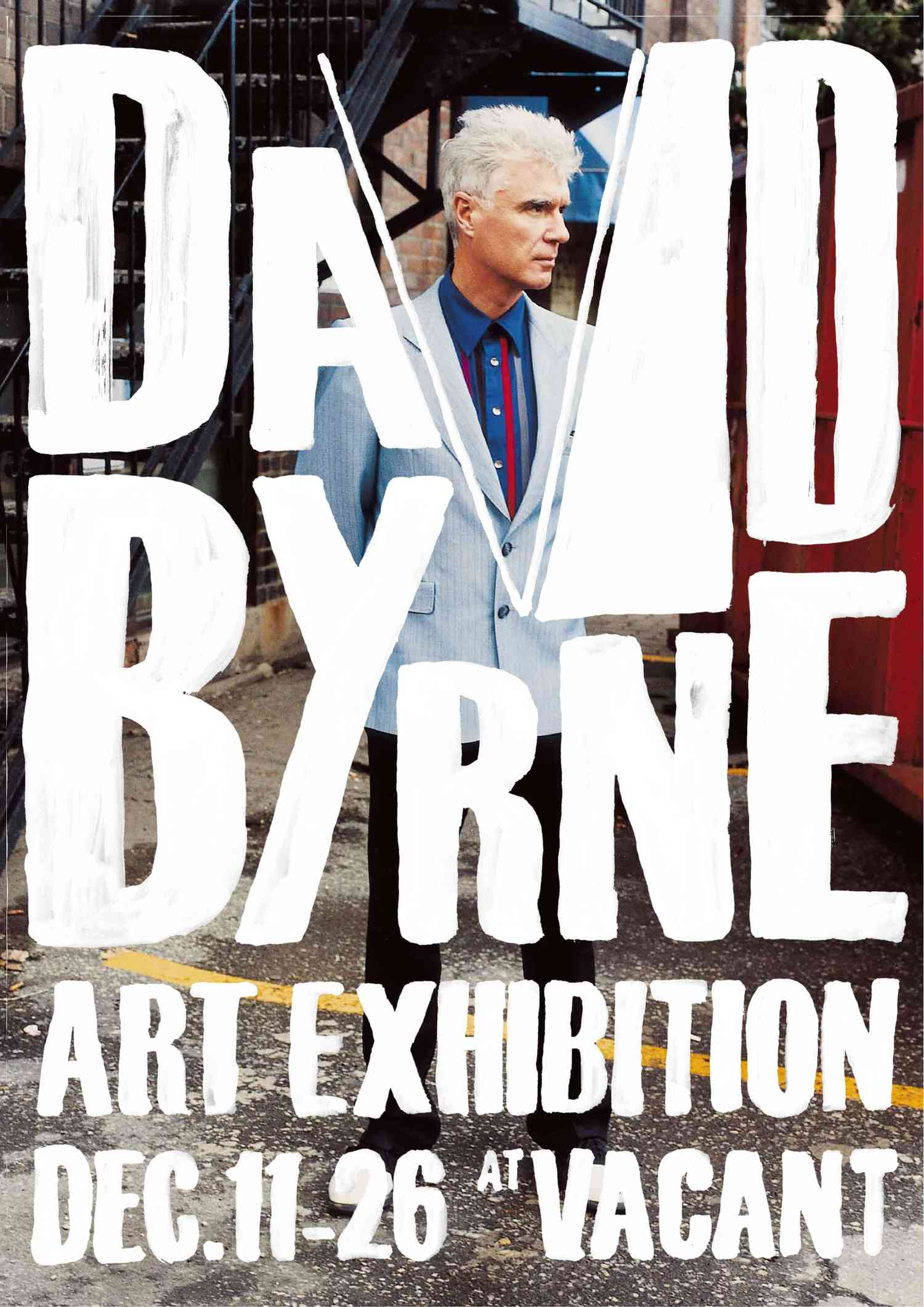 """David Byrne – Art Exhibition"", an event jointly organized by David Byrne, VACANT Gallery and CAT Team in Tokyo (2010)"