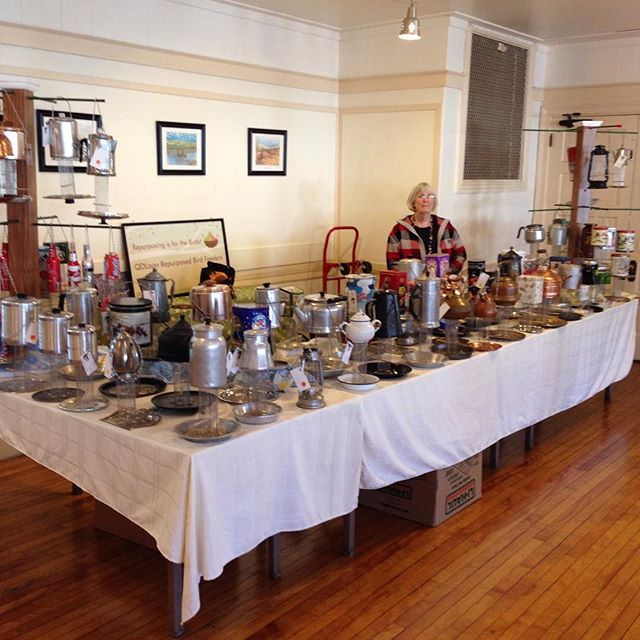 Craft fair at the Woodford's Club, 147 Woodford Street, Portland.
