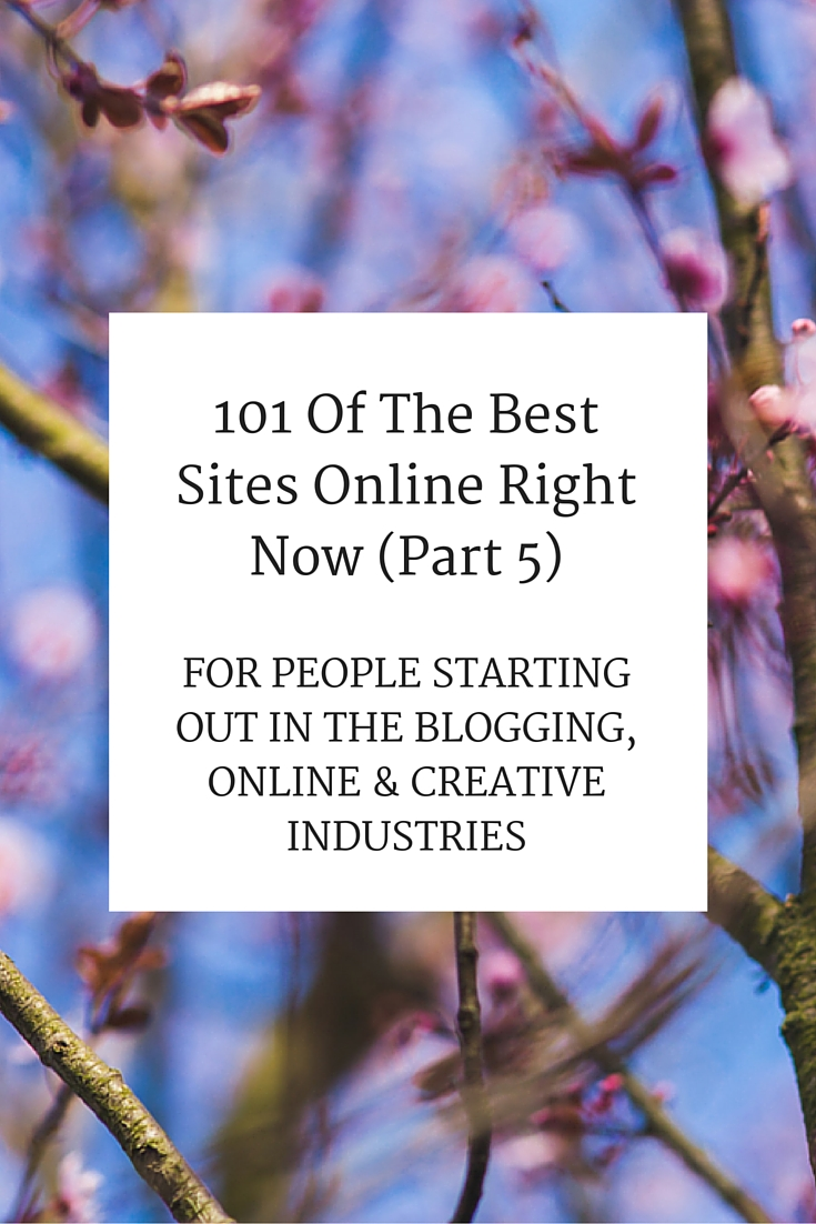 101 Of The Best Sites Online Right Now