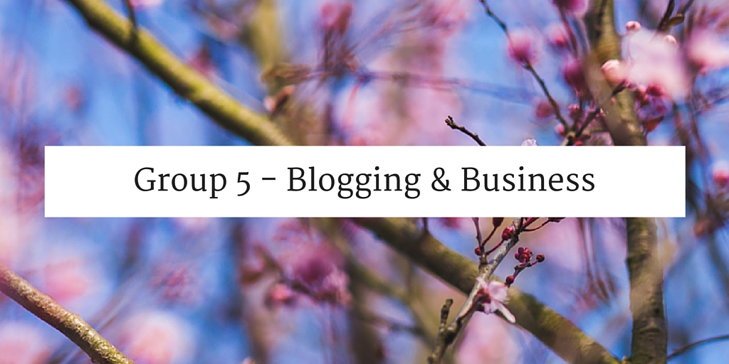 Blogging and Business websites