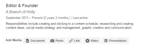 Putting Your Blog on LinkedIn