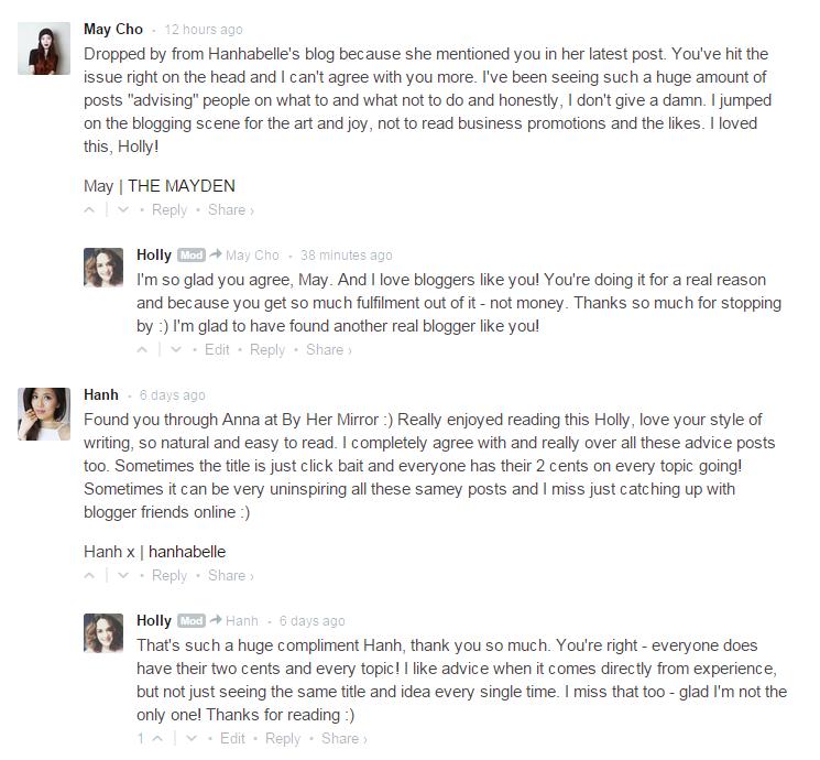 Blog Comments