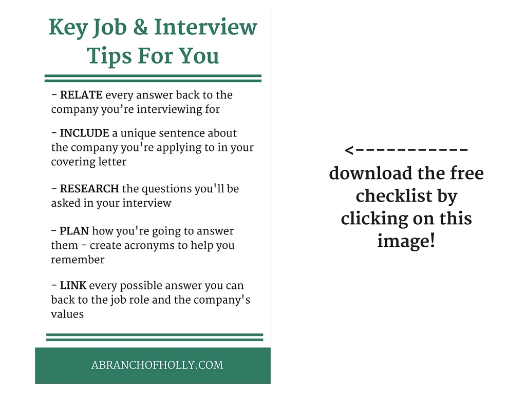 Key Job and Interview Tips For You