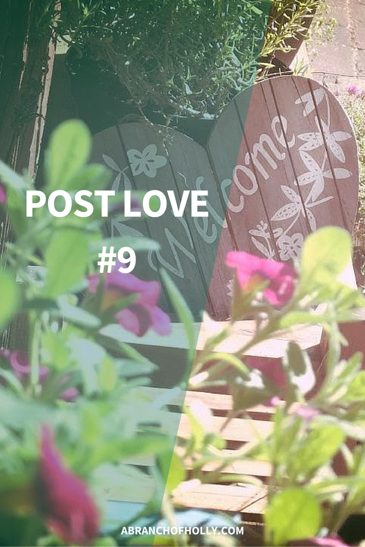 Post Love - A Branch of Holly