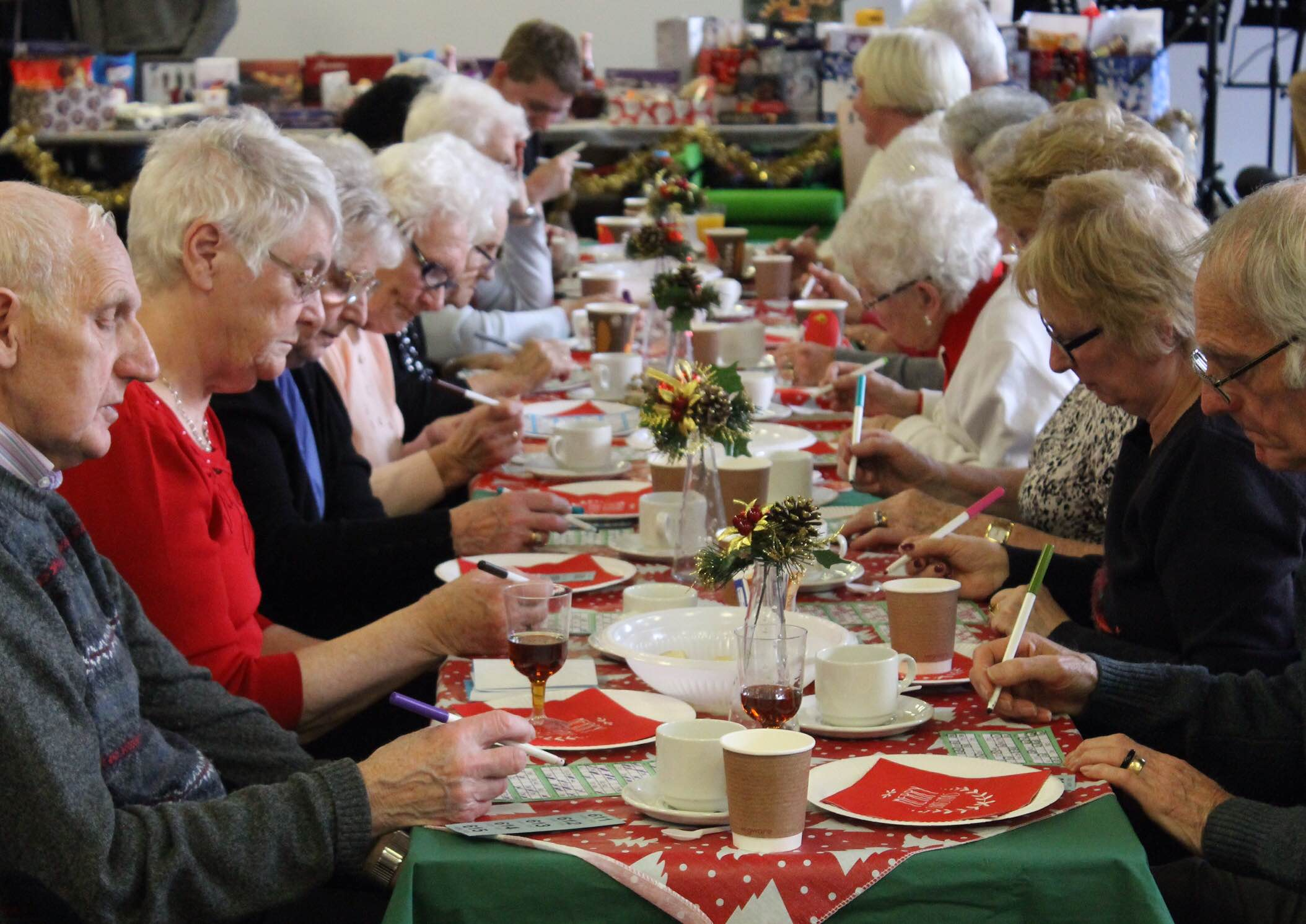 Love this snap I took at our Christmas Party at work - they loved playing bingo!