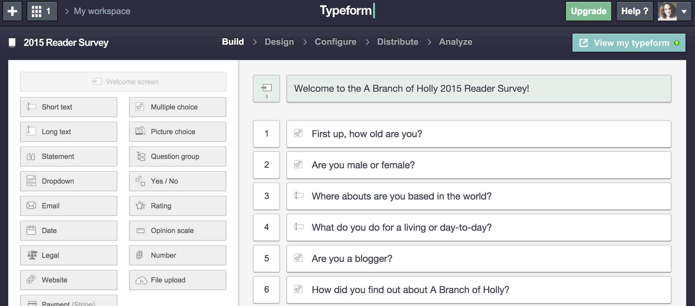 Getting reader feedback for your blog