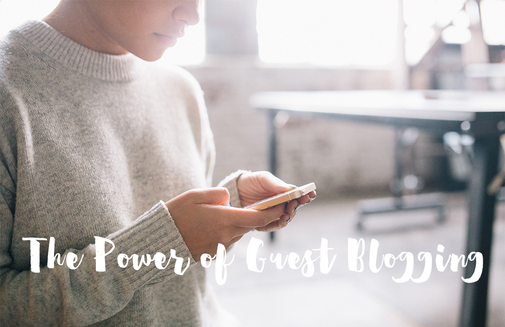 the power of guest blogging