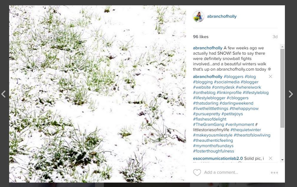 adding captions to your instagram photos