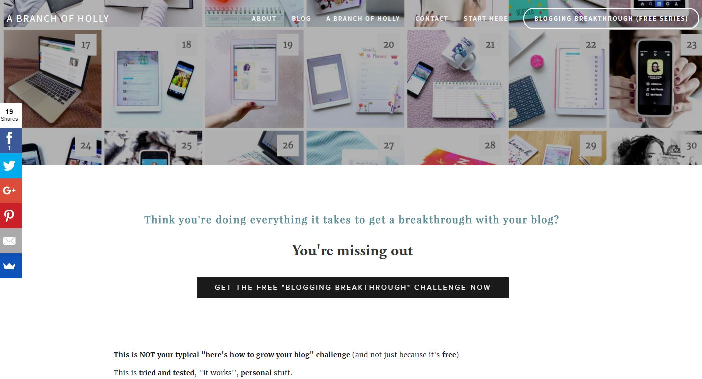 Blogging Breakthrough -  the free eBook!