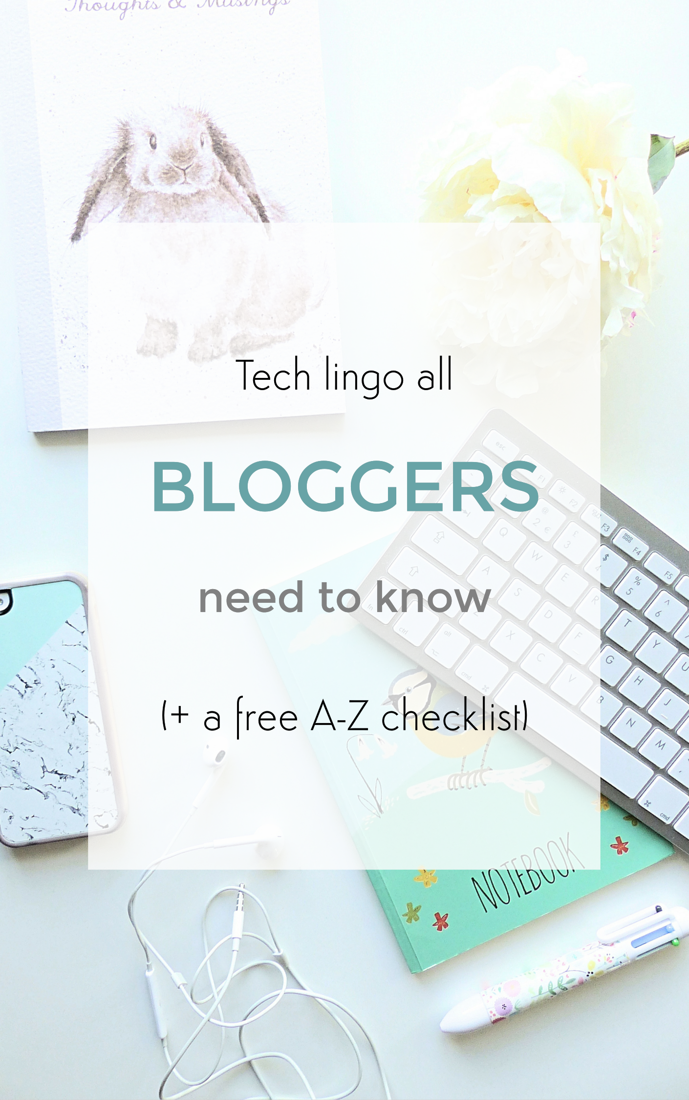 tech lingo all bloggers need to know