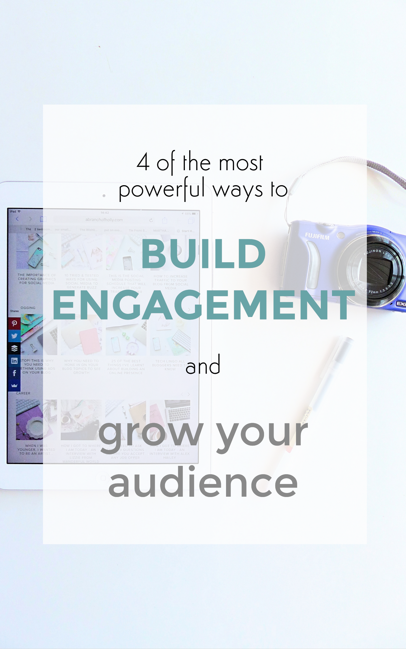 4 of the most powerful ways to build engagement and grow your audience