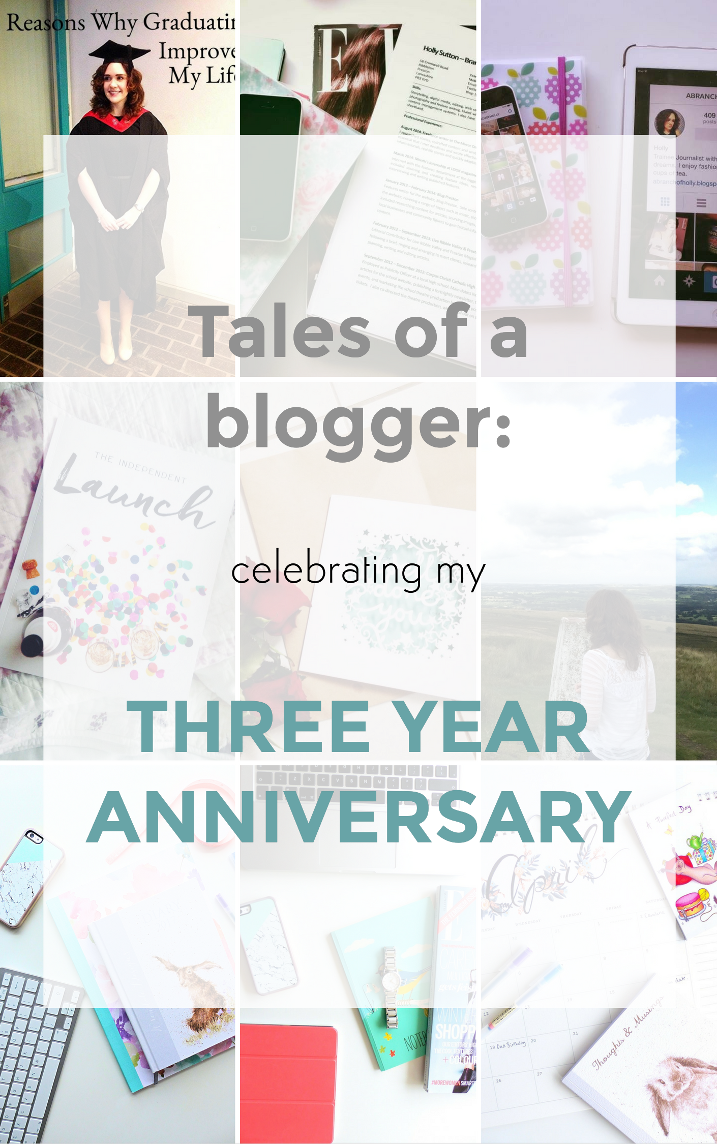tales of a blogger - celebrating my three year anniversary