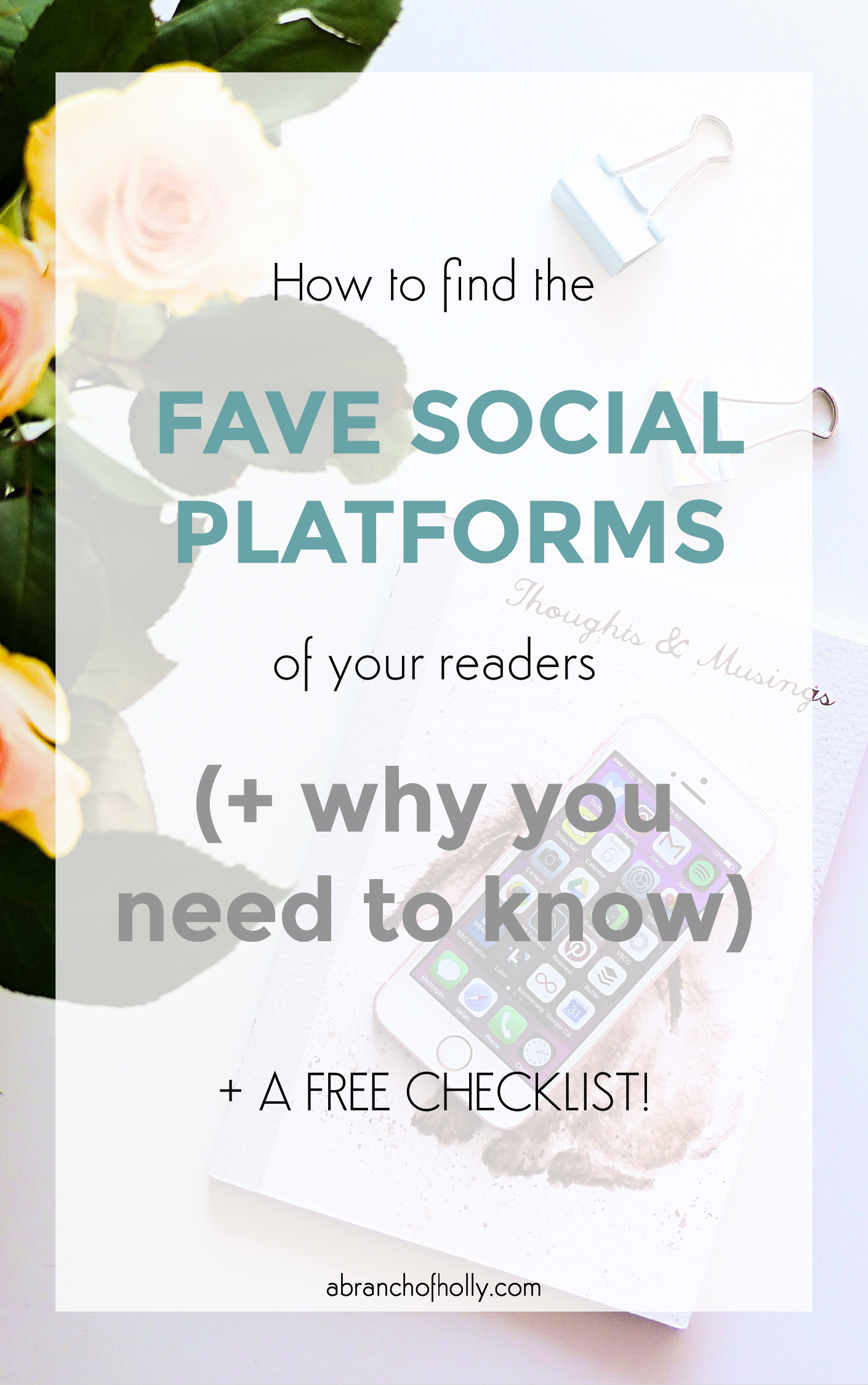 how to find the fave social platforms of your readers