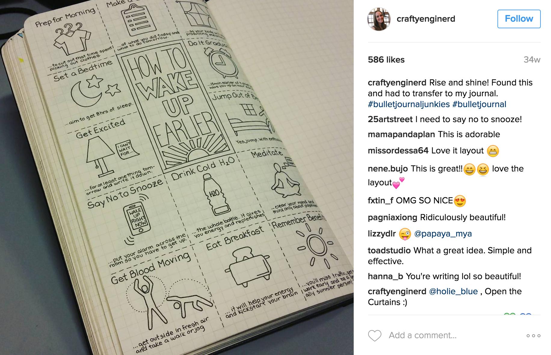 Source: craftyenginerd Instagram