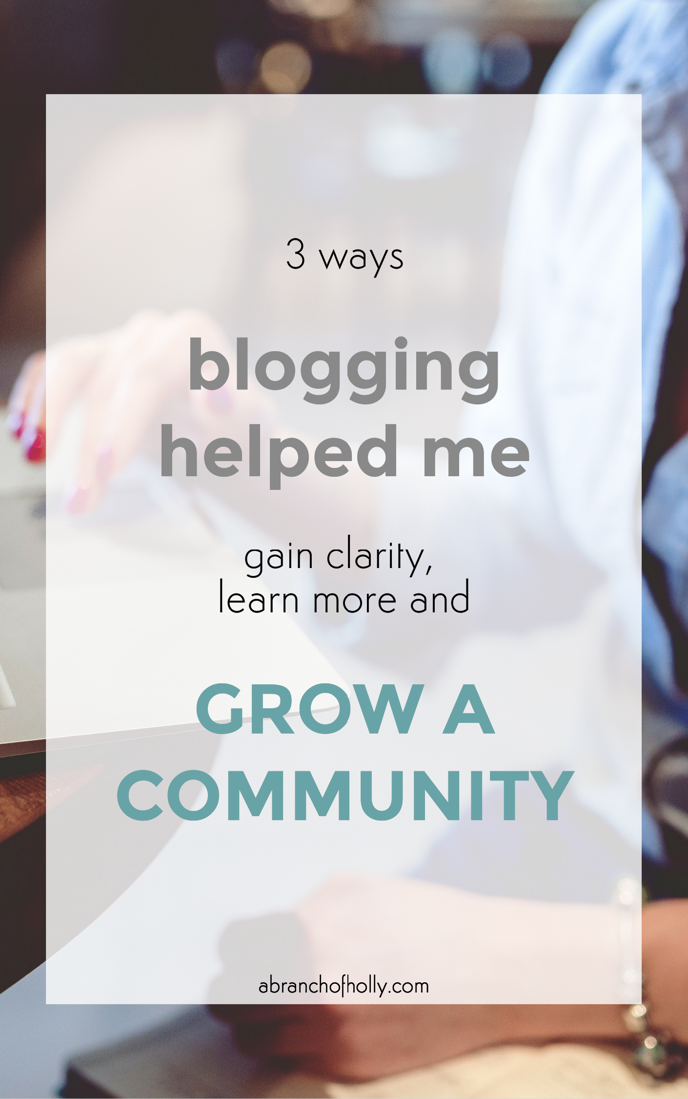 how blogging can enrich your life