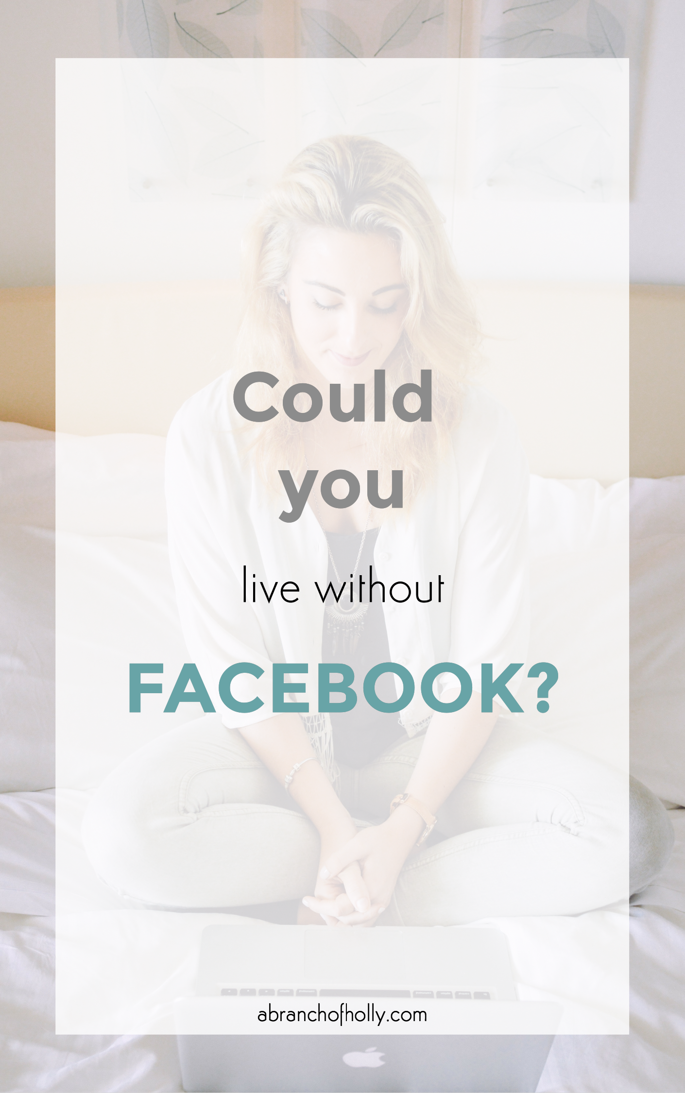 could you live without facebook?