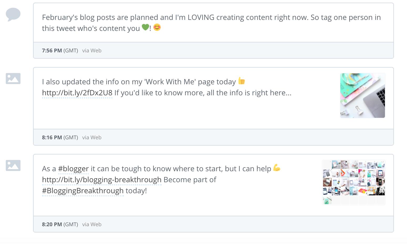 maximise time as a blogger