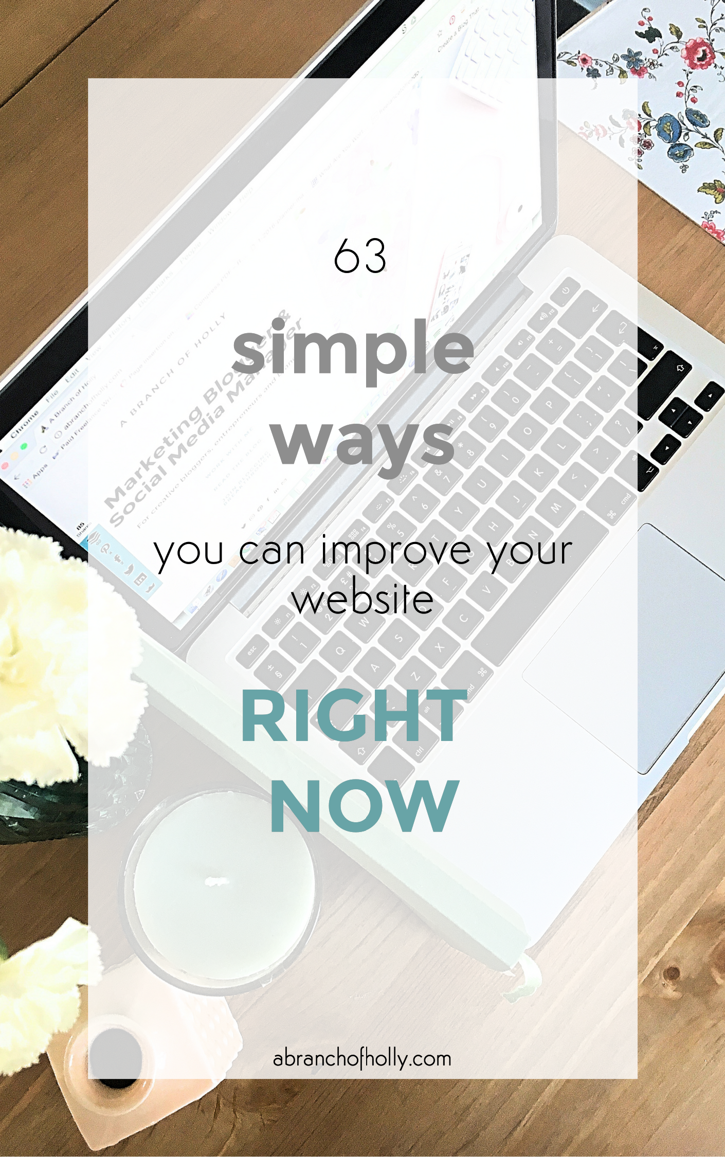 simple ways to improve your website right now