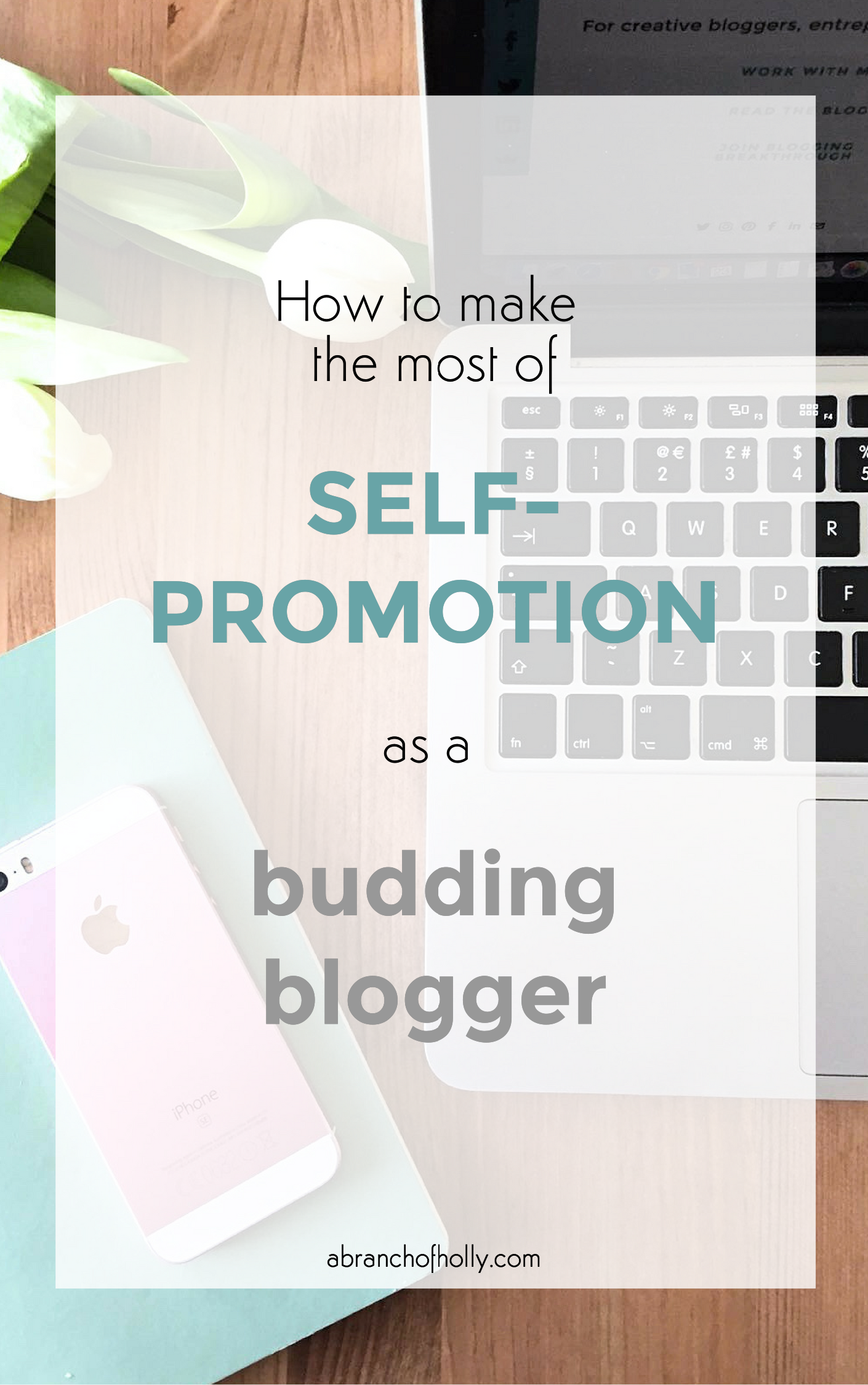 how to make the most of self-promotion as a budding blogger