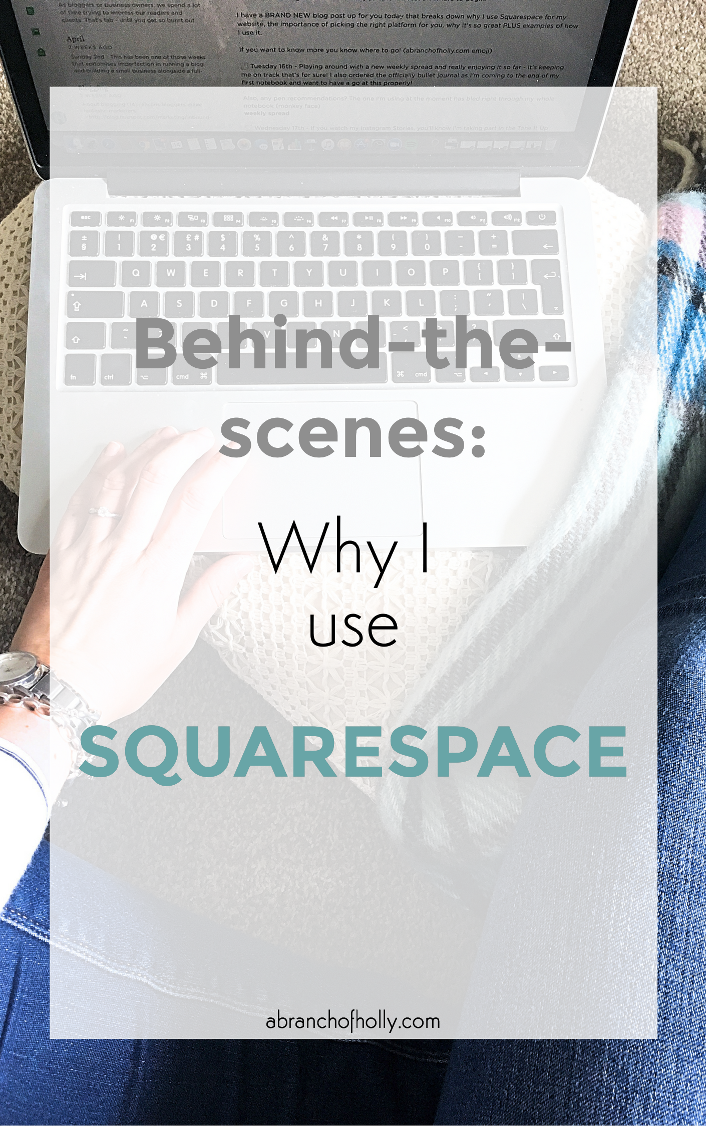 behind-the-scenes: why i use squarespace