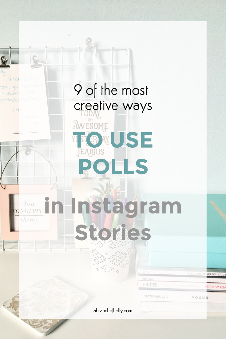 use polls in instagram stories