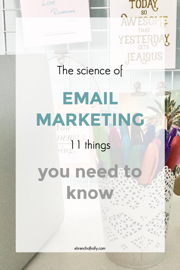 things you need to know about email marketing